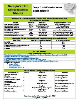 2020 Spring Brag Sheet District 11