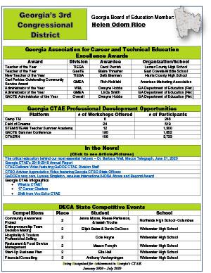 2020 Spring Brag Sheet District 3
