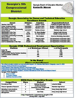 2020 Spring Brag Sheet District 5